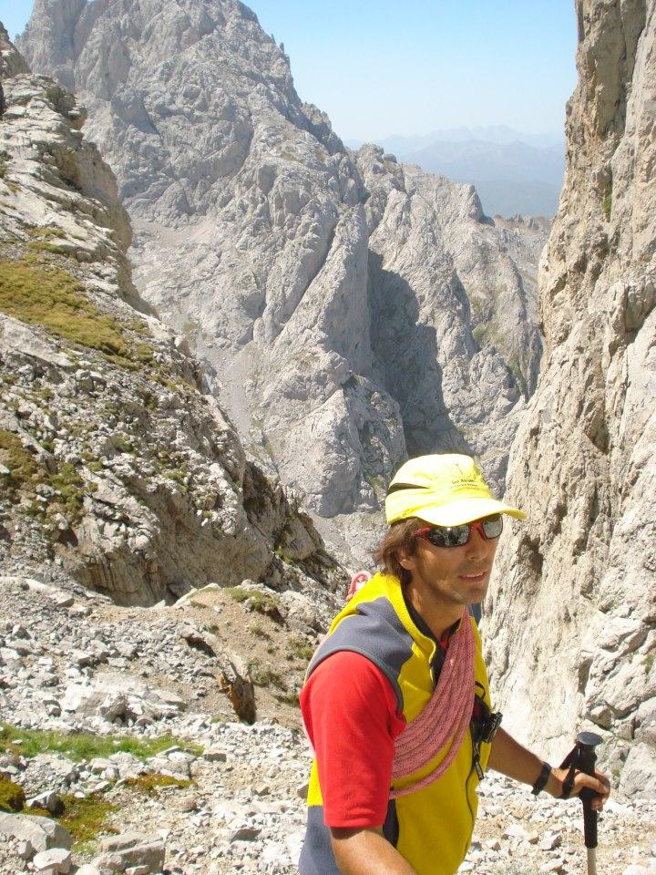 Sánchez, montañero