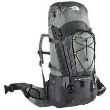mochila campamento